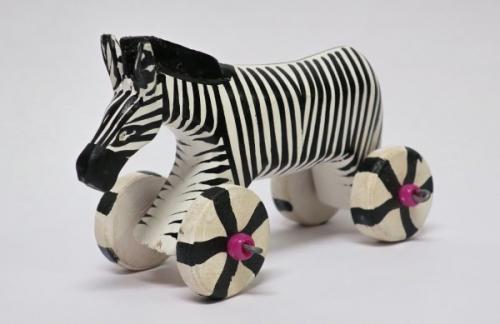 Zebra auf Rädern