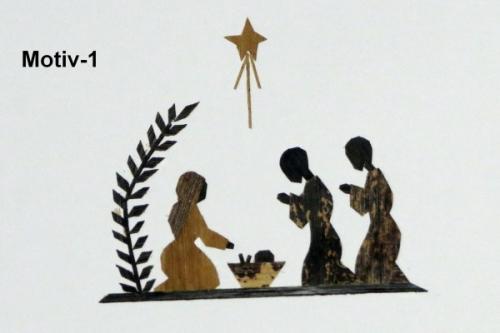 Weihnachtskarte, Motiv Nr. 1
