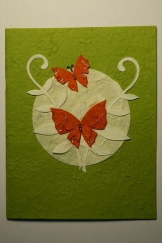 """Grußkarte, """"Schmetterling_1"""""""