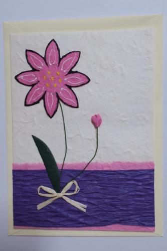 """Grußkarte, """"Blumen 3"""""""